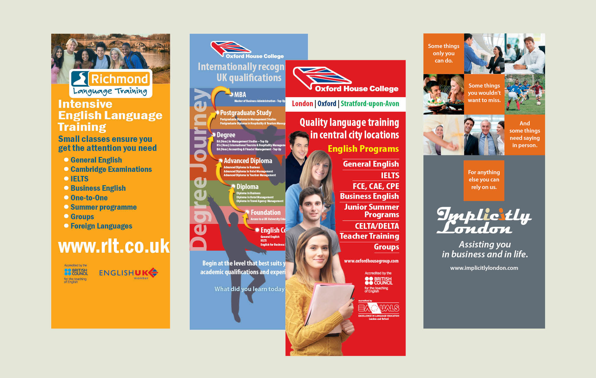 Corporate Identity management for Oxford House College