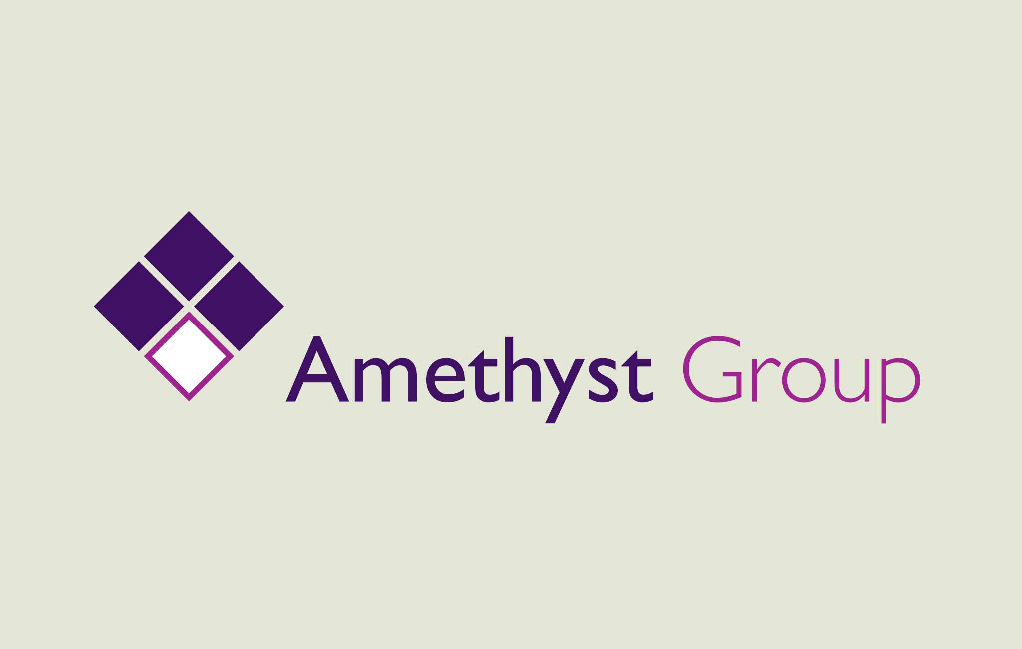 Amethyst Group logo design