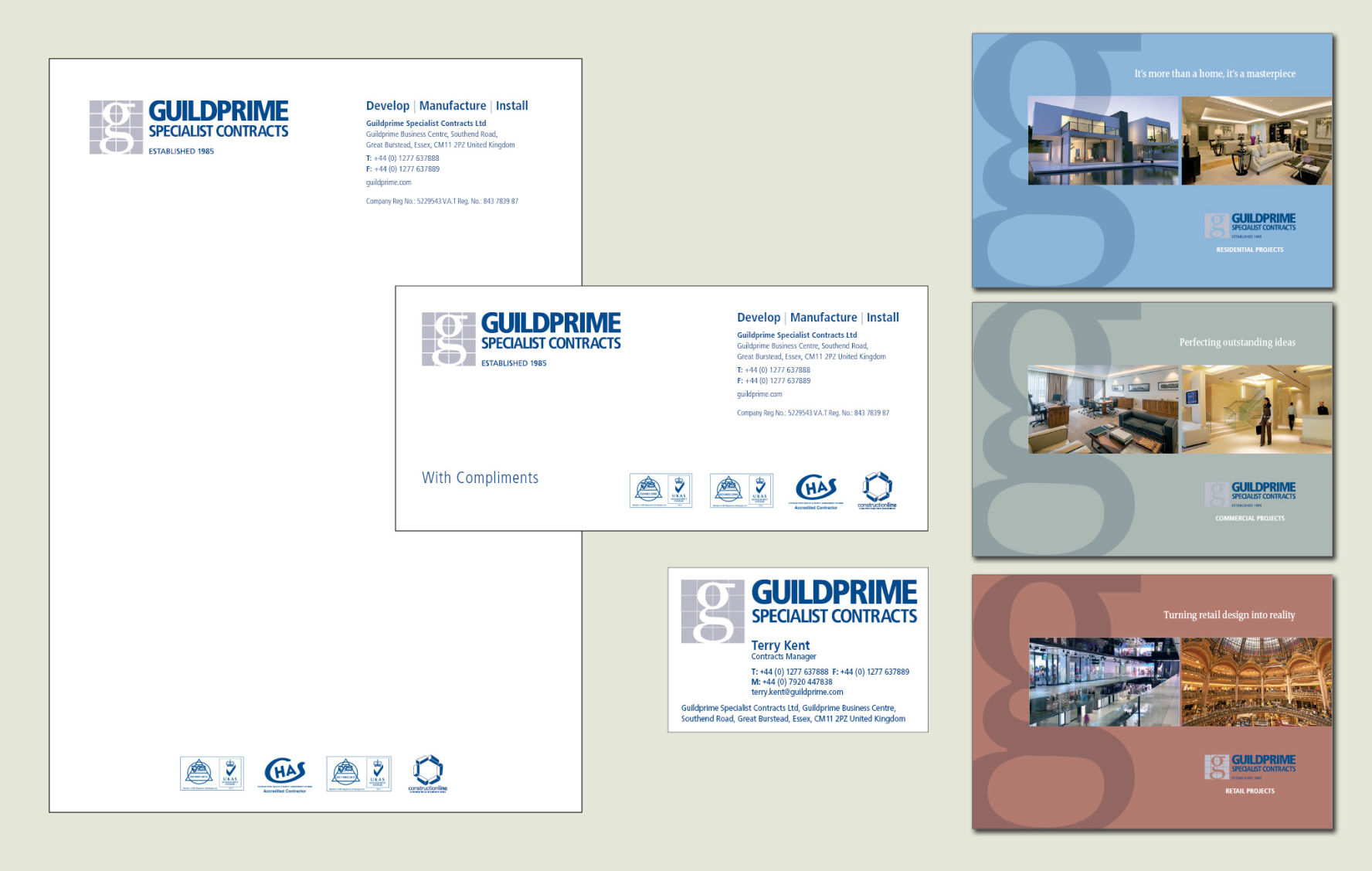 Corporate Identity management for Guildprime