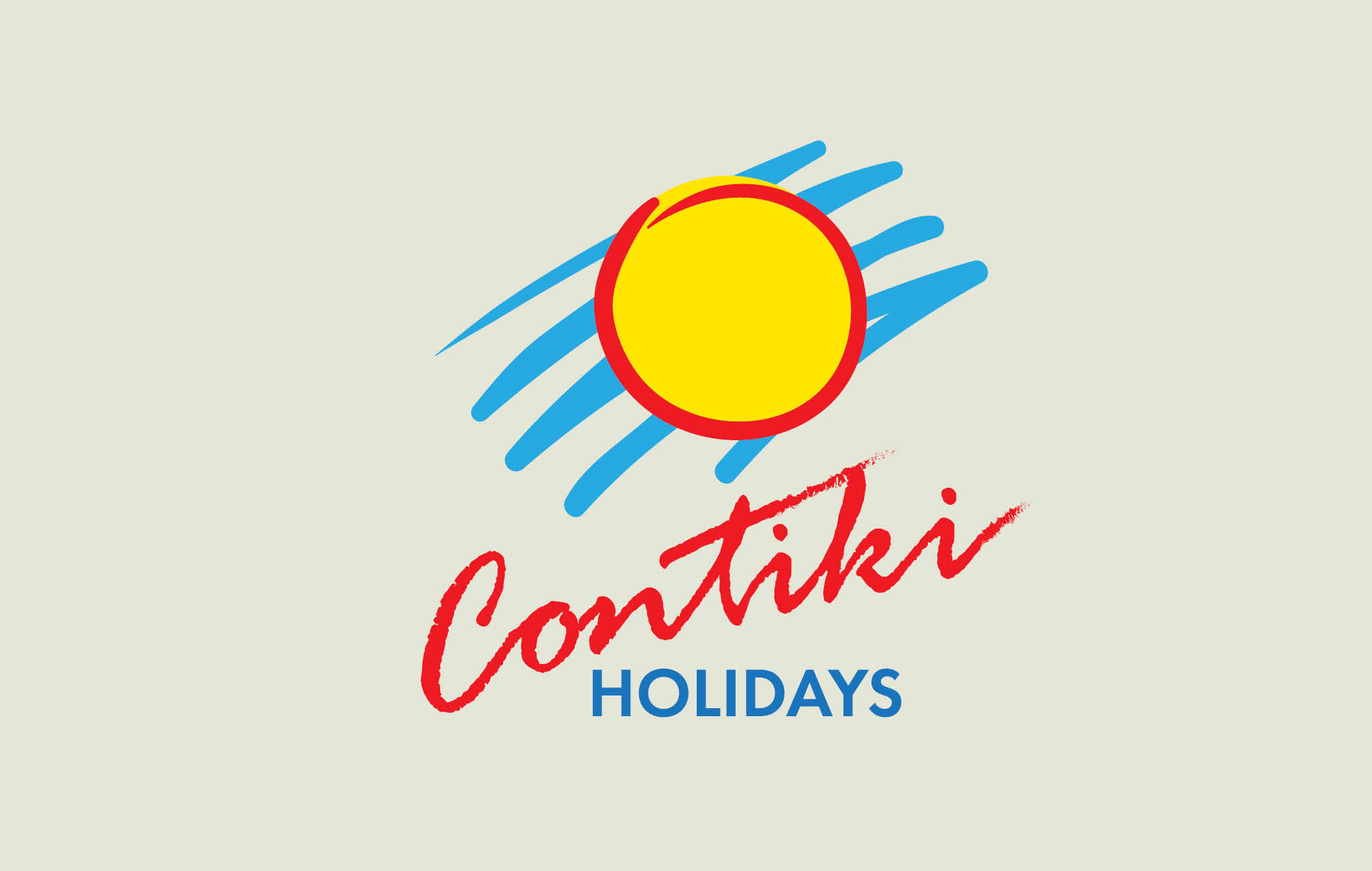 Logo design for Contiki Holidays